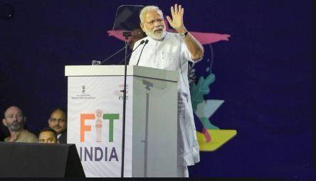 PM Modi starts FIT India Movement