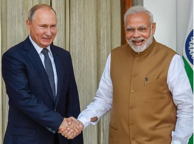 Russia's Far East region to get India's aid.