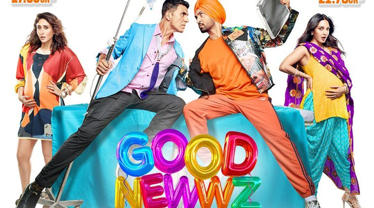 Good newwz hits 150 crores of income